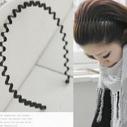 カチューシャ ファッションアクセサリー なみなみ形状 S8371