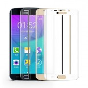 Galaxy S6Edge 専用 強化ガラス フィルム 液晶保護強化ガラスフィルム スマートフォン 硬度9H 超薄0.26mm 2.5D ラウンドエッジ加工