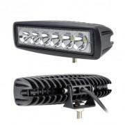 6英寸18W汽车Led工作灯聚光12V 24V 4x4 4WD SUV 卡车 越野车顶灯