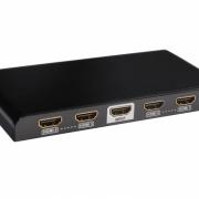 HDMIスプリッタ4本物のバージョン1.4への4のHDMIスプリッタに1分41