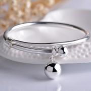s990純銀ファッション铃する式の経典のブレスレット JHYSH003