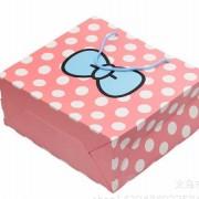 ピンク ラッピング レジぶくろ 紙袋 ギフトバッグ リボンドット JY-12
