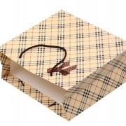 格子 ラッピング レジぶくろ 紙袋 ギフトバッグ  JY-11