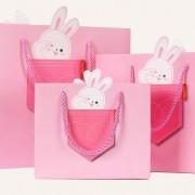 4種類 ラッピング レジぶくろ 紙袋 ギフトバッグ 動物 JY-ZX3