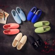 日系風メンズペダル怠惰な靴 カジュアルシューズ キャンバス靴