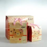 卡通满月礼品袋/创意礼品袋/食物/糖/宝宝生日/处理袋/高质量的纸板(M)