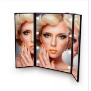 卸 三面鏡  スタンドミラー 卓上ミラー   メイクアップ メイクミラー 姫系 化粧 卓上鏡 鏡 ミラー ロココ調 卓上  メイク ドレッサー デスクミラー   おしゃれ 仕入れebuyer00802