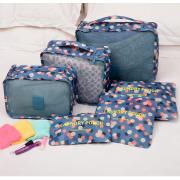 卸し  旅行収納ポーチ6点セット アレンジケース 衣類収納 旅行バッグ バッグ トラベル ポーチ 仕入れebuyer00312