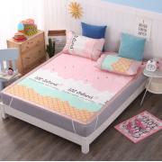 敷きパッド 涼感寝具 クールでドライな清涼敷きパッド 卸し3点セットラグ カーペット ござ 上敷き 仕入れebuyer02306